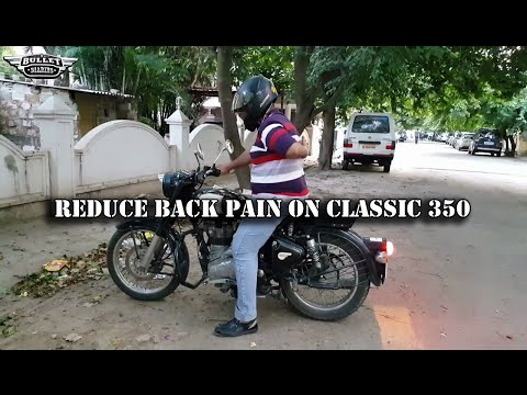 HANDLE BAR FOR ROYAL ENFIELD CLASSIC 350 : REDUCE PAIN WHILE RIDING A BULLET