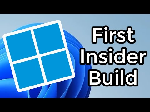 The First Windows 11 Insider Build is Out - Here's What's New! (In-Depth Look)
