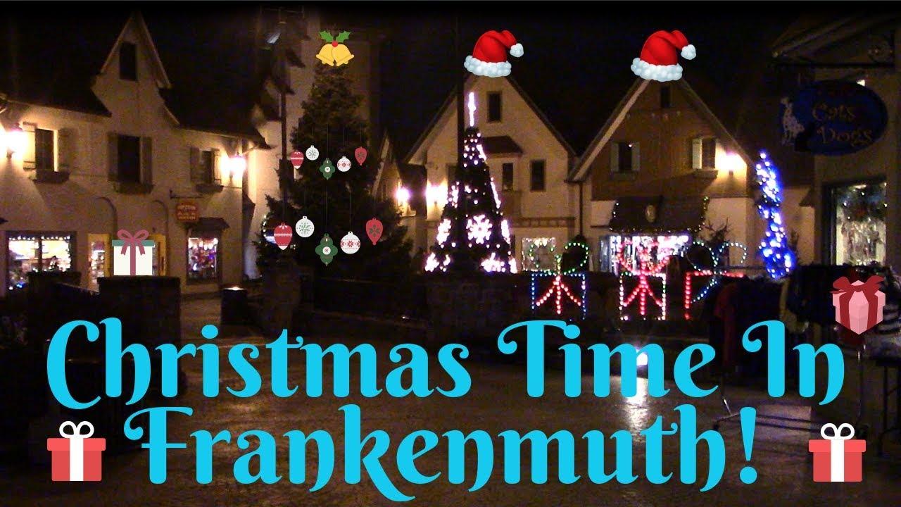 Frankenmuth Christmas.Frankenmuth Michigan A Bavarian Christmas Tour