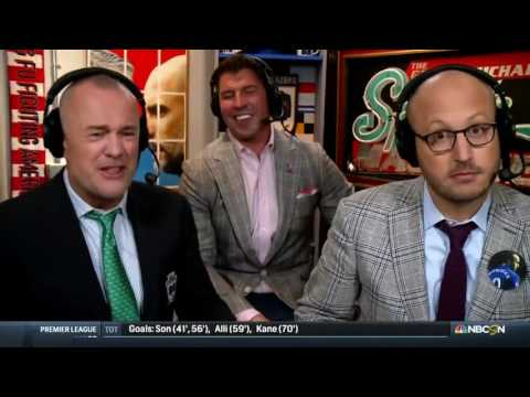 David Diehl talks soccer flops with Men in Blazers