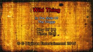 Troggs, The - Wild Thing (Backing Track)