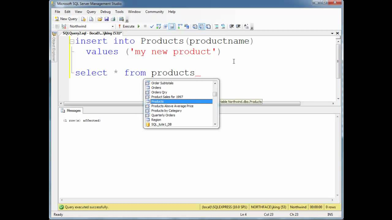 With Keys Auto-generating Primary Columns Identity - Youtube Sql