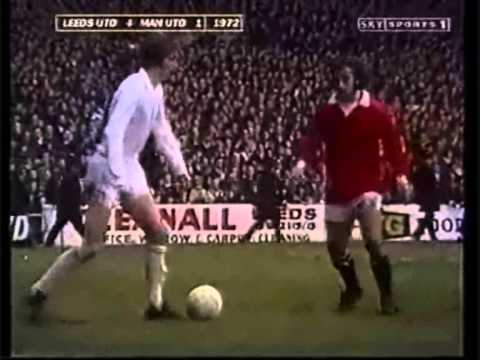 Leeds United Destroy Manchester United 1972 - YouTube