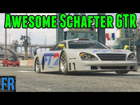 Awesome Schafter GTR - Street Race Career #25 (Gta 5 Mods)
