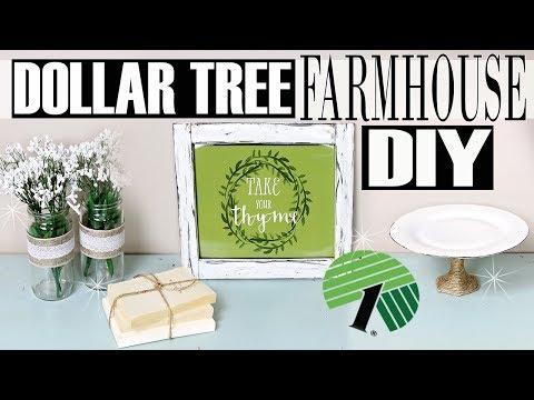 💠 DOLLAR TREE DIY FARMHOUSE DECOR 💠 RUSTIC DECOR IDEAS