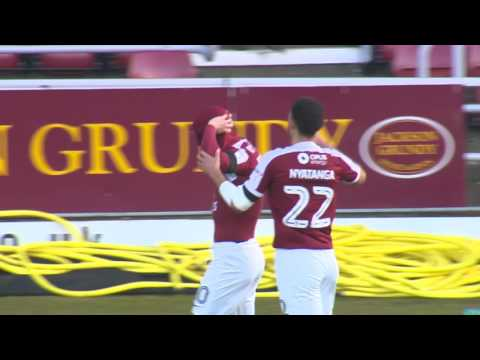 HIGHLIGHTS: Northampton Town 1 Scunthorpe United 2