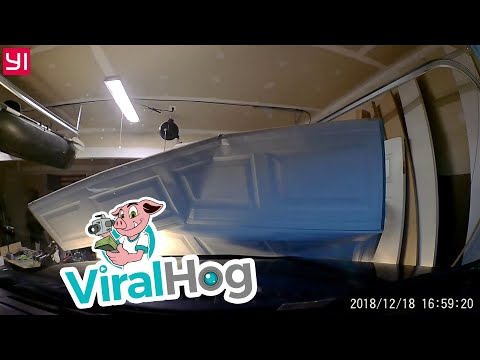 Very Expensive Instant Garage Door Opener || ViralHog