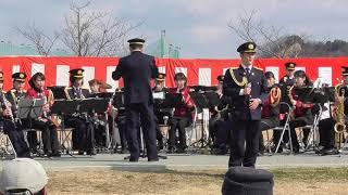 花の交機隊隊歌 岡山県警察音楽隊 20190217 thumbnail