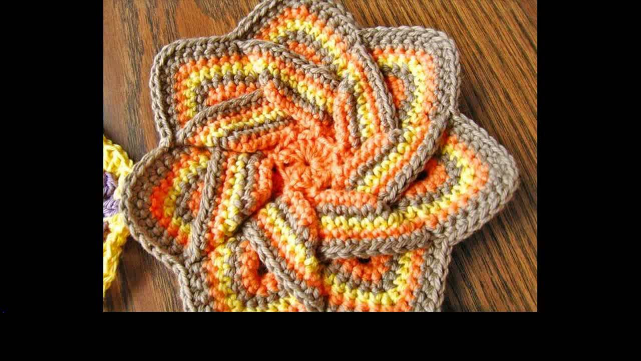 free crochet potholder tutorial