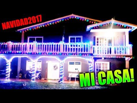 especial navidad decoramos mi casa con miles de luces
