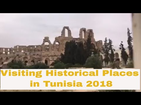 Visiting historic places in Tunisia 2018 - Holiday vlog