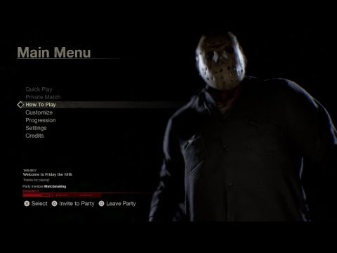 Friday the 13th The GAME gameplay tamil 1080 60fps