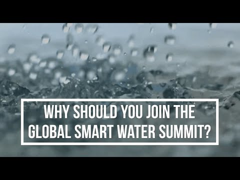 Why Should You Join The Global Smart Water Summit?