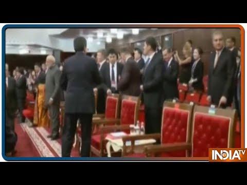 SCO Summit Bishkek: PM Modi, Imran Khan Seat Across Dinner Table, Avoid Handshake, Pleasantries