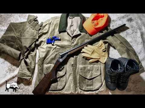 Filson Tin Cloth Field Coat, Filson's Wax Cotton Hunting Jacket, Item No. 11010088