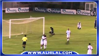Nice goal by Wesley in a friendly match of Al Hilal Team 2017 Video