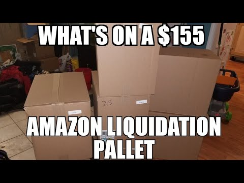 My first time buying a $1550 Amazon liquidations pallet Wow
