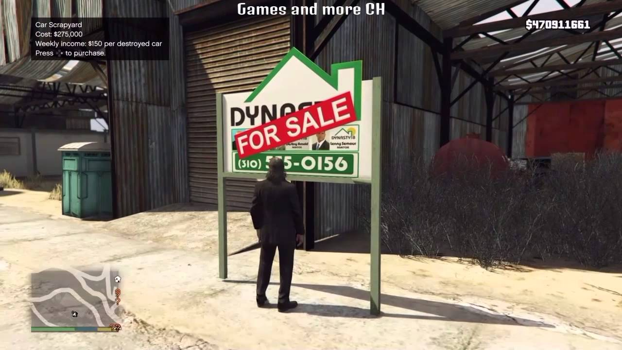 Gta v story mode trevor buying properties youtube Buy house com