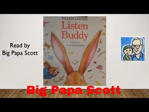 Read Aloud! Listen Buddy by Helen Lester