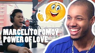MARCELITO POMOY - POWER OF LOVE (CELINE DION) LIVE ON WISH 107.5 BUS REACTION
