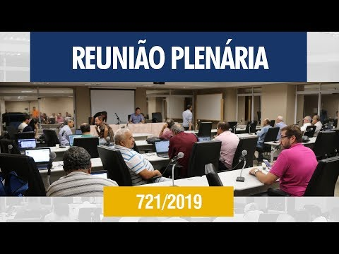 721ª Reunião Plenária - Crea-AL