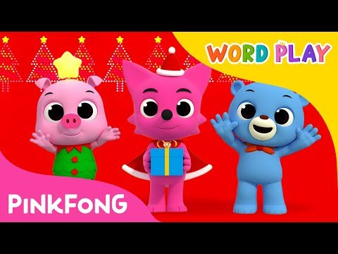 We Wish You a Merry Christmas | Word Play | Pinkfong Songs for Children