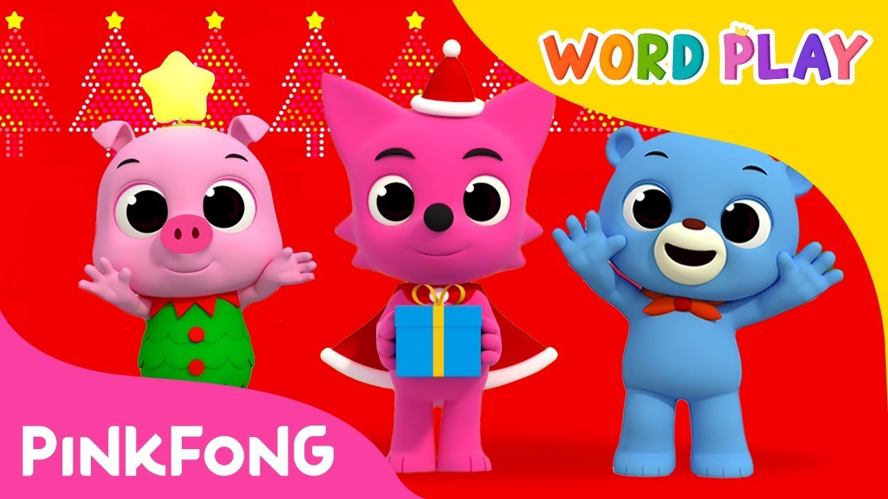 We Wish You A Merry Christmas Word Play Pinkfong Songs For Children YouTube