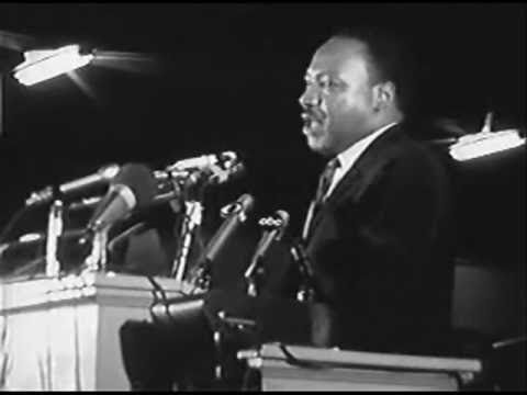 The last speech dr. Martin Luther King Jr.