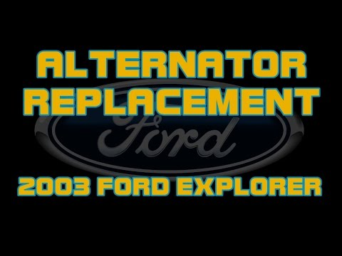 Download 2003 Ford Explorer - How To Check And Replace The Alternator
