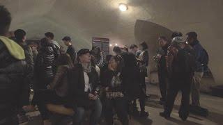 Turistas atrapados en el interior del Arco de Triunfo de París durante el atentado