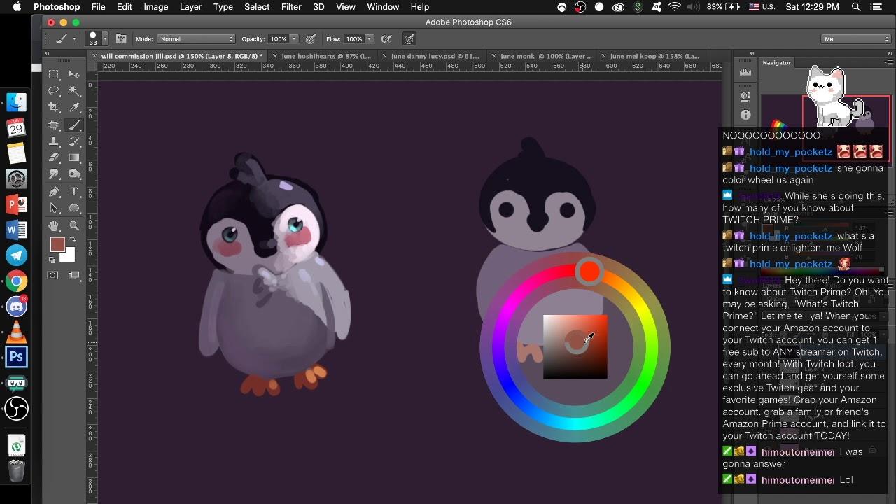 penguin colours v2