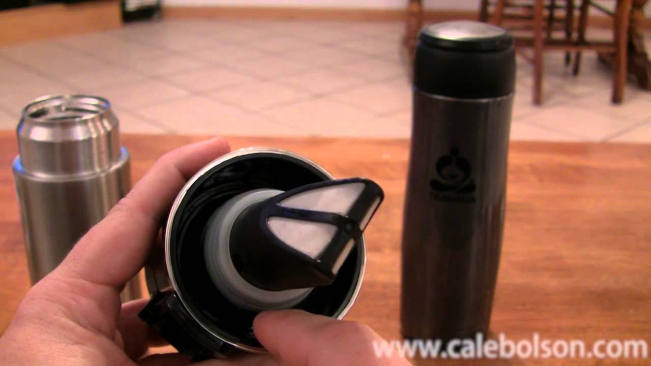 Teavana Contour Tumbler Vs Thermos Review Youtube