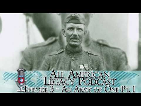 All American Legacy Podcast Ep. 3 - An Army of One Pt. 1