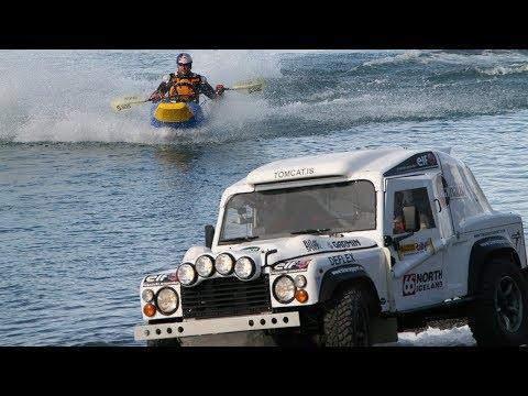 Jet Powered Canoe Race | Top Gear | BBC Studios