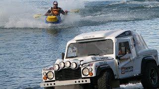 Engine Powered Canoe vs The TomCat - Top Gear - BBC