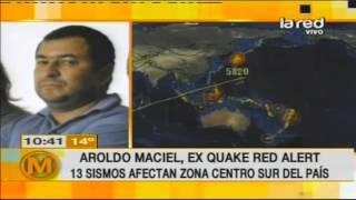 El regreso de Aroldo Maciel ex Quake Red...