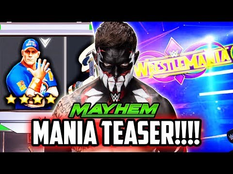 WWE MAYHEM NEW WRESTLEMANIA UPDATE TEASER! I GOT SCREWED OVER!!!