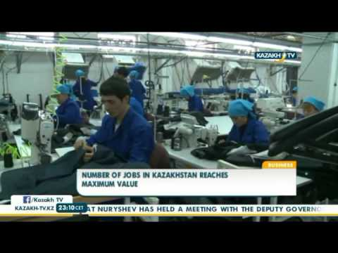 Number of jobs in Kazakhstan reaches maximum value - Kazakh TV