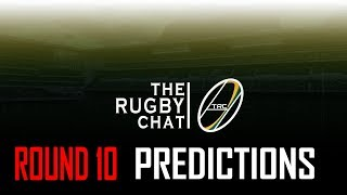 Super Rugby 2018 - Round 10 Predictions TRC
