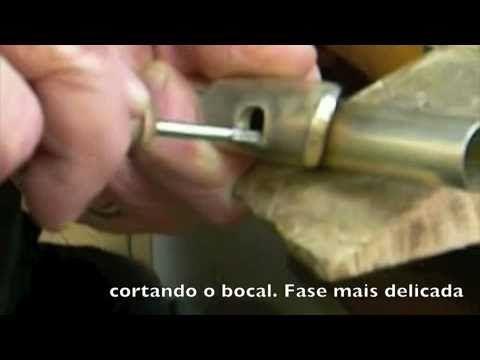 Fabricação Artesanal de Bocal de Flauta Transversal