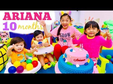 Ariana's 10th Monthsary