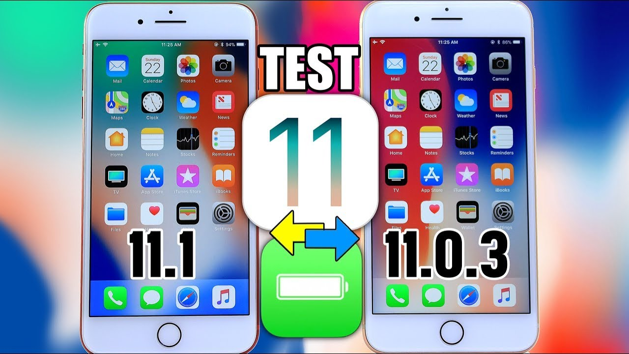 iphone 6s battery life ios 11.0.3