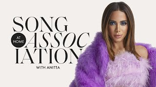 "Anitta Sings Rihanna, Shakira, and ""Rosa"" in a Game of Song Association 