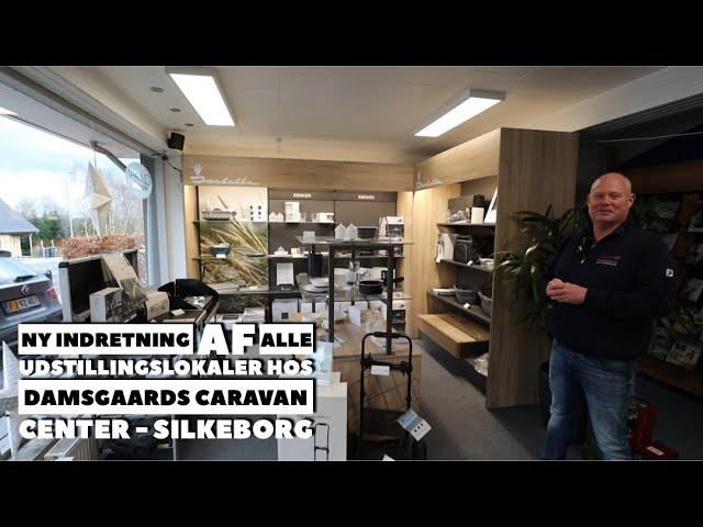 Damsgaards Caravan Center - Silkeborg bygger om