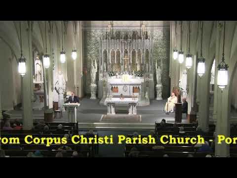 Catholic Mass Hour At Corpus Christi Parish Church   Portsmouth NH February 2, 2020