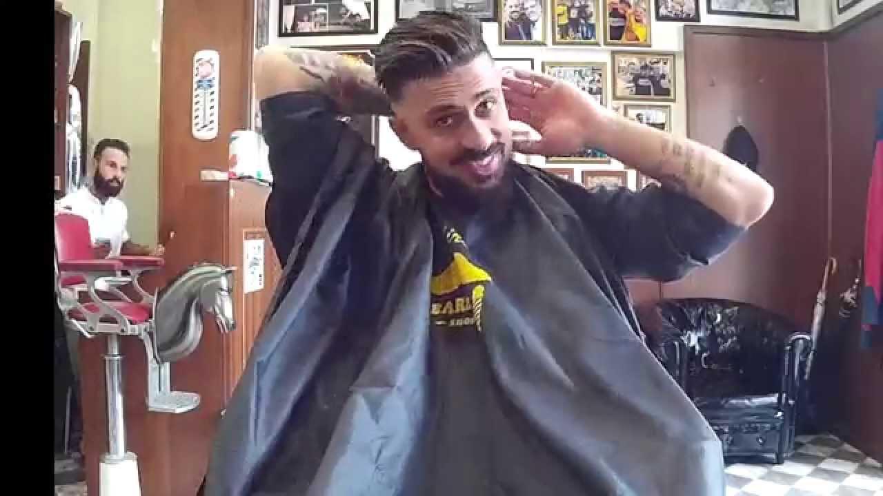 Taglio capelli uomo barber shop