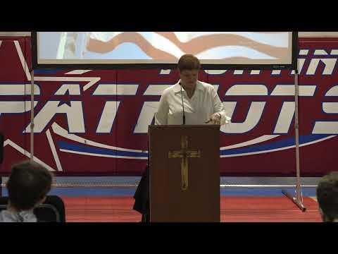 John Curtis Christian School Veterans Day Program