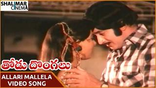 Thodu Dongalu Movie || Allari Mallela Video Song || Krishna, Chiranjeevi || Shalimarcinema