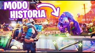 FORTNITE: History Mode !! NEW SERIES !! Saving the World #1 Makigames