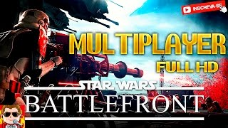 Star Wars Battlefront - Multiplayer - Gameplay Comentado (PS4) (HD)